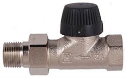 Клапан термостатический прямой тип ВВ DN15 1/2 матовая никелированная бронза - фото 6357