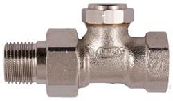 Клапан запорно-дренажный настраиваемый прямой Verafix-E PN10 130 DN 15 (1/2) - фото 6363