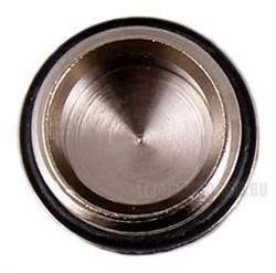 Заглушка для радиатора G 1/2 никелированная латунь - фото 6374