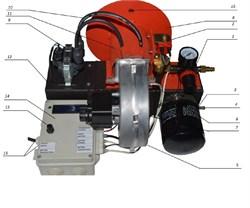 горелка на отработанном масле 20 КВт - 40 КВт - фото 8051