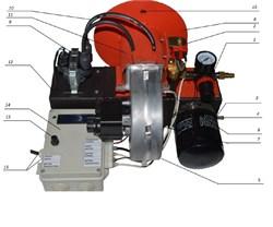 горелка на отработанном масле 40 КВт - 80 КВт - фото 8055