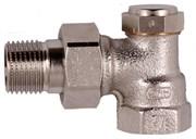 Клапан запорно-дренажный настраиваемый угловой Verafix-E PN10 130 DN15 (1/2)