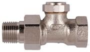 Клапан запорно-дренажный настраиваемый прямой Verafix-E PN10 130 DN 15 (1/2)